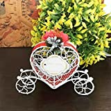 Yamalans Heart Carriage Couch Sweets Chocolate Candy Box Wedding Party Favours Gift Box