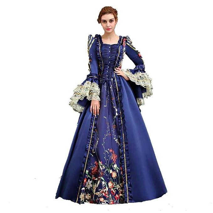Amazon.com: KEMAO - Disfraz de doncella victoriana para ...