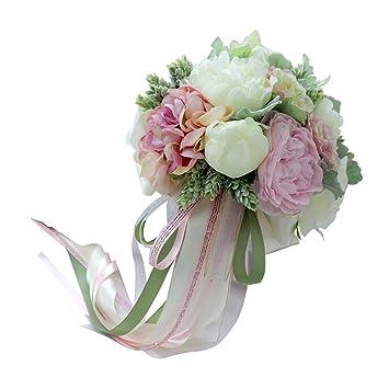 Sharplace Bouquet Fleurs Décoration De Mariage Anniversaire