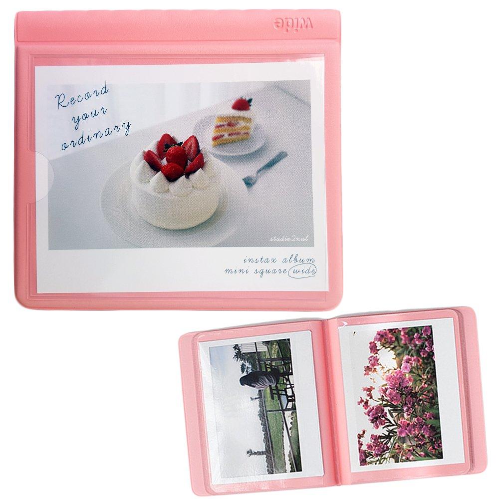 Polaroid Wide Films Album Fujifilm instax Wide Instant Film Book Photo Album Indi Pink