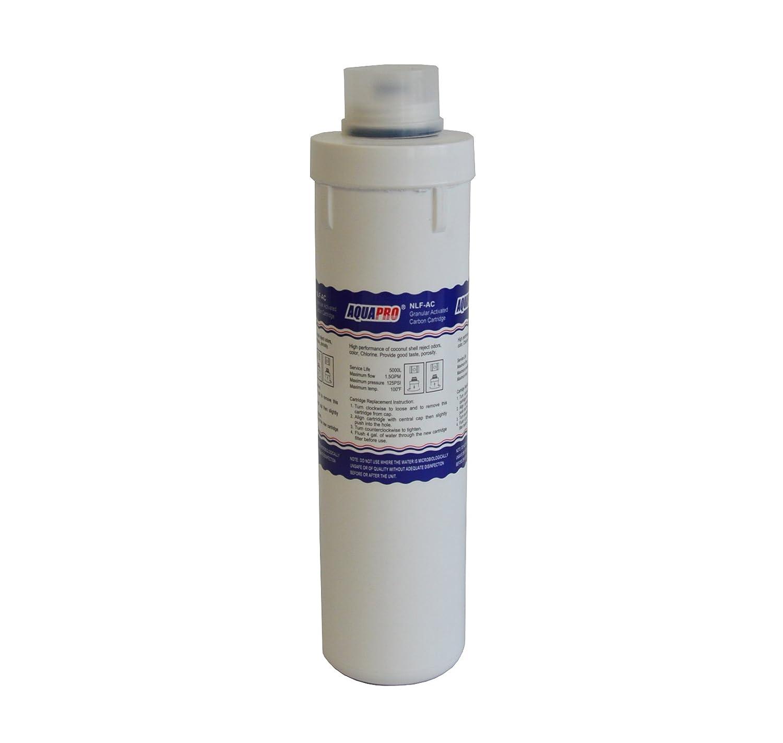 'Cartouche filtre 10 Charbon actif de noix de coco granuleuse pr-nlf-ac 5000L AquaPro