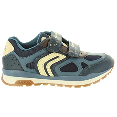 Geox J Pavel A, Baskets Basses garçon: : Chaussures