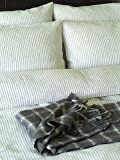 Bedlinen Set Black White Linen