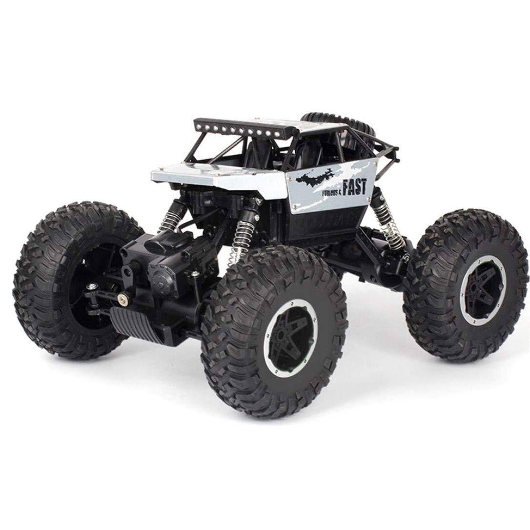 HighlifeS R/C Rock Crawler Radio Control Vehicle 1/18 2.4G 4WD 15KM/h (Silver)