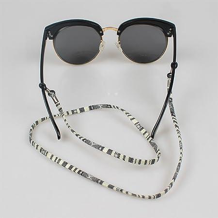 Soleebee 6 Pièces Corde Chaîne Attache pour Lunettes Porte-Lunettes avec  Perles en Cristal Artificielle  Amazon.fr  Bricolage 6093f0dc9410