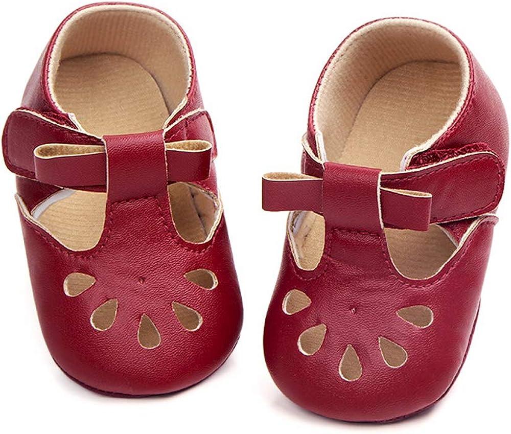 Ortego Chaussures B/éb/é Fille Chaussure Premier Pas Mode Plat Confortable Antid/érapants
