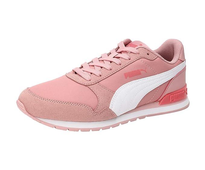 Puma Unisex ST Runner v2 NL Jr Bridal Rose Whit White Pink