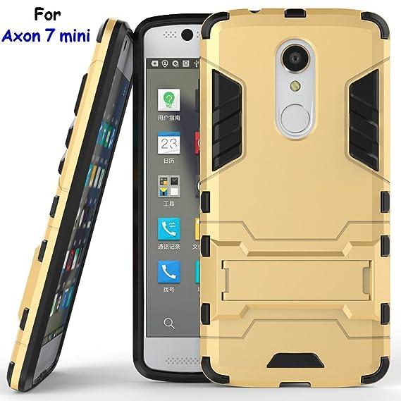 buy online e3d2e c33c8 Axon 7 mini Case, ZTE Axon 7 mini Case, MicroP(TM) Dual Layer Armor Hard  Slim Hybrid Kickstand Phone Cover Case for ZTE Axon 7 mini (Axon 7 mini ...