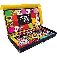 Sico Play Pack con 3 Paquetes de Condones Saboréame de 3 pzas c/u y 2 Lubricantes de 50 ml c/u