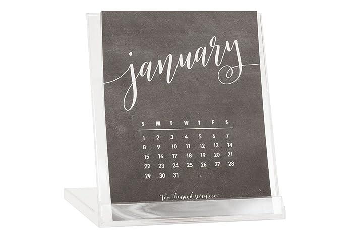 chalkboard 2018 desktop calendar buy 2 get 1 free