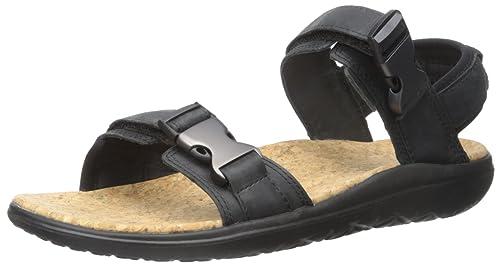 Teva Terra-Flotador Universal Lux Sandalia de Cuero de los Hombres: Amazon.es: Zapatos y complementos