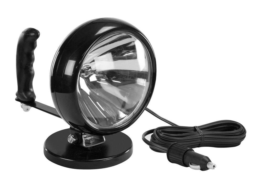 Larson Electronics CML-4-10CC Control Lights with Magnetic Base - 12Vdc - Ultra Spotlight - Cml-4 - Made in The USA (10'-Coil Cord)