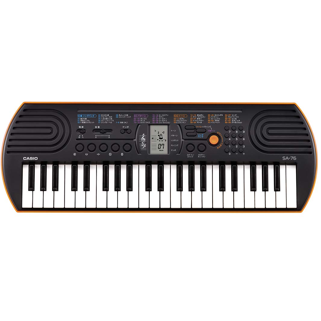 Casio SA76 44-Key Mini Personal Keyboard by Casio