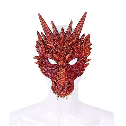 DIDADA Máscara de látex Mardi Gras 3D Halloween Carnaval Fiesta ...