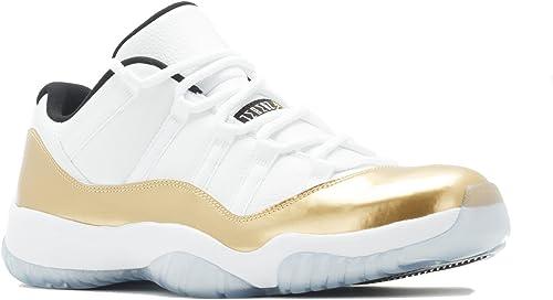 air jordan blanco con dorado