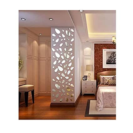 Wall Stickers Goodculler New 12pcs 3d Mirror Vinyl Removable Wall