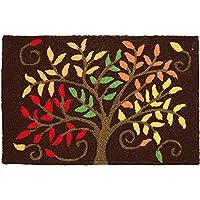 Jellybean Autumn Colors Memory Foam Rug