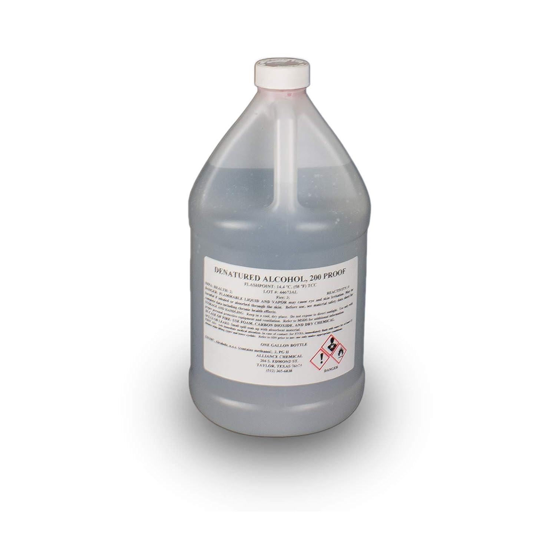 Denatured Alcohol 200 Proof -1 Gallon: Amazon com