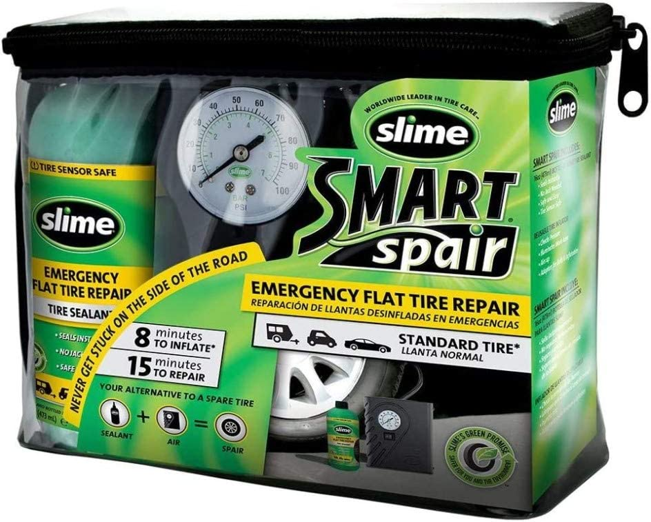 Slime Smart Spair Emergency Tire Repair Kit