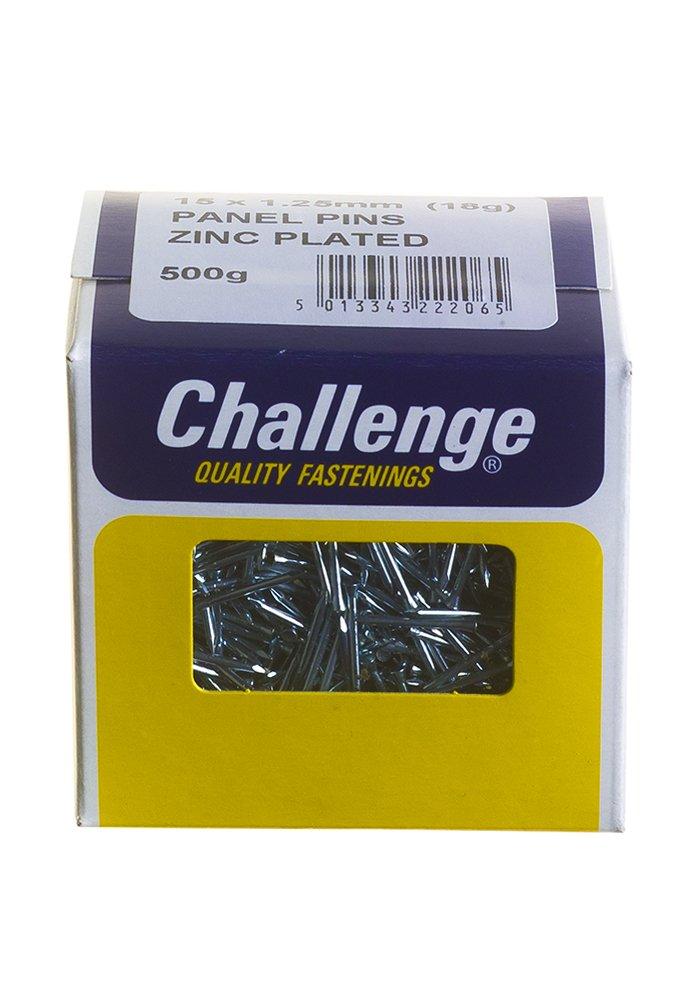 Challenge 22202 - Clavos (15 x 1,25 mm, 500 g), acabado cincado 500g) Frank Shaw 22206