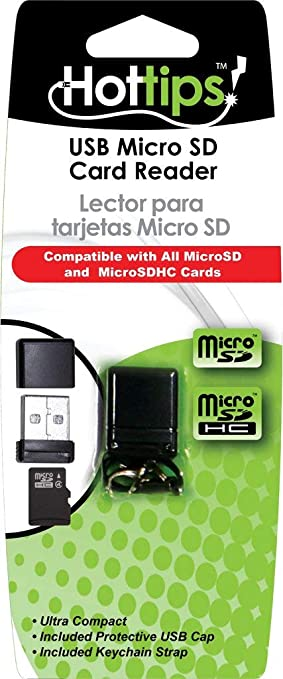 Amazon.com: Hottips Micro Sd Card Reader Case Pack 48 ...