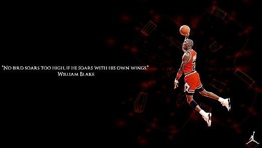 Amazon.com: Póster de Michael Jordan Slam Dunk Baloncesto ...