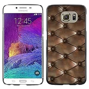 Estuche Cubierta Shell Smartphone estuche protector duro para el teléfono móvil Caso Samsung Galaxy S6 SM-G920 / CECELL Phone case / / Diamond Pattern Leather Texture /