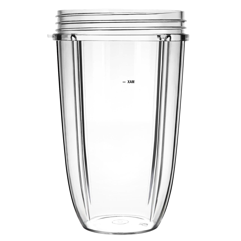 Yesurprise 18oz Short Cup for NutriBullet Replacement Mug Assembly Parts for Nutri Bullet Blender Juicer Mixer COMIN18JU006822