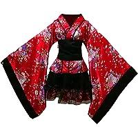 FENICAL Kimono Japonés de Cerezo Disfraz de Lolita