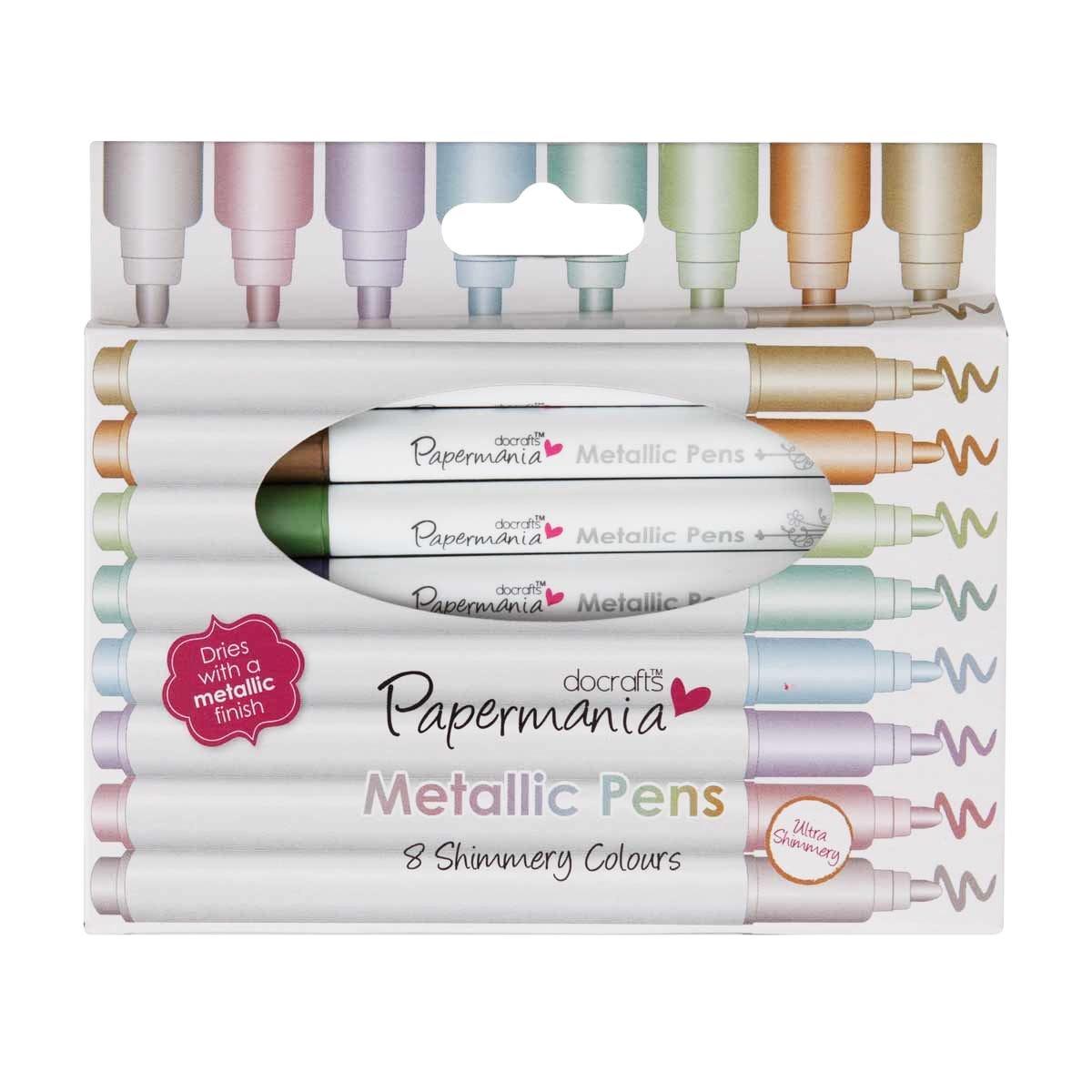 Docrafts Metallic Pens 8 Shimmery Colours: Amazon.de: Küche & Haushalt