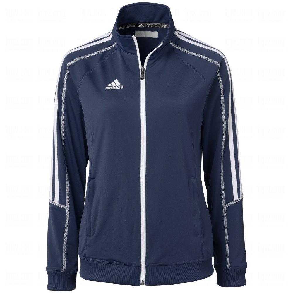 best adidas womens climalite select full zip jacket medium. Black Bedroom Furniture Sets. Home Design Ideas