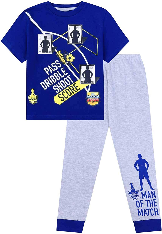 Topps Match Attax Boys Football Long Pyjamas