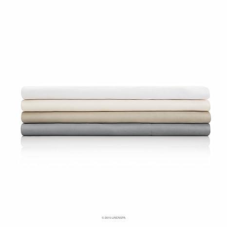 Amazon.com: LINENSPA Brushed Microfiber Ultra Soft Bed Sheet Set ...
