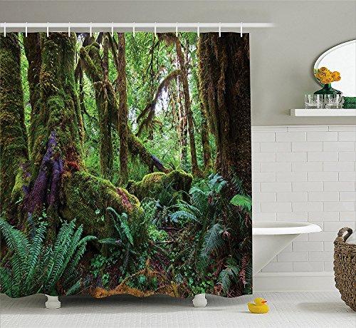 farmhouse-decor-shower-curtain-monsoon-tropical-jungle-with-bushes-ferns-trees-vegetation-wild-land-