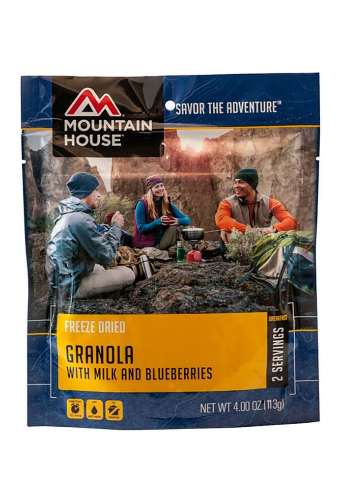 Mountain House Biscuits and Gravy, 4.94 oz, Pouch Oregon Freeze Dry 53326