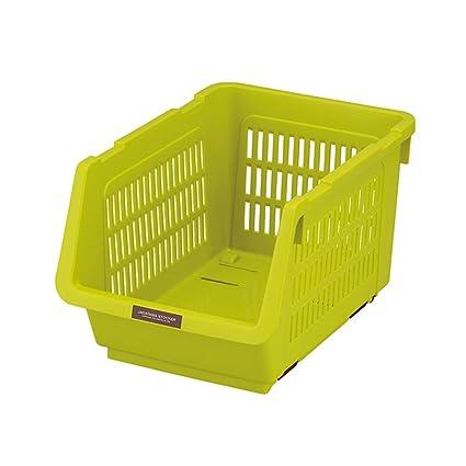 Caja de Almacenamiento de Madera Maciza Cocina de múltiples Capas de plástico de pie Caja de