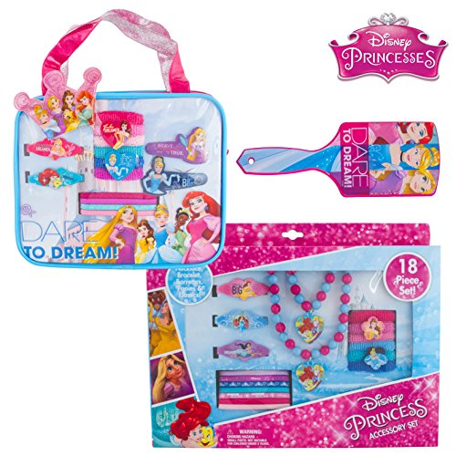 Princess In Disney (Disney Princess Jewelry & Hair Accessories in Convenient Carry Case Box Set & Bonus)