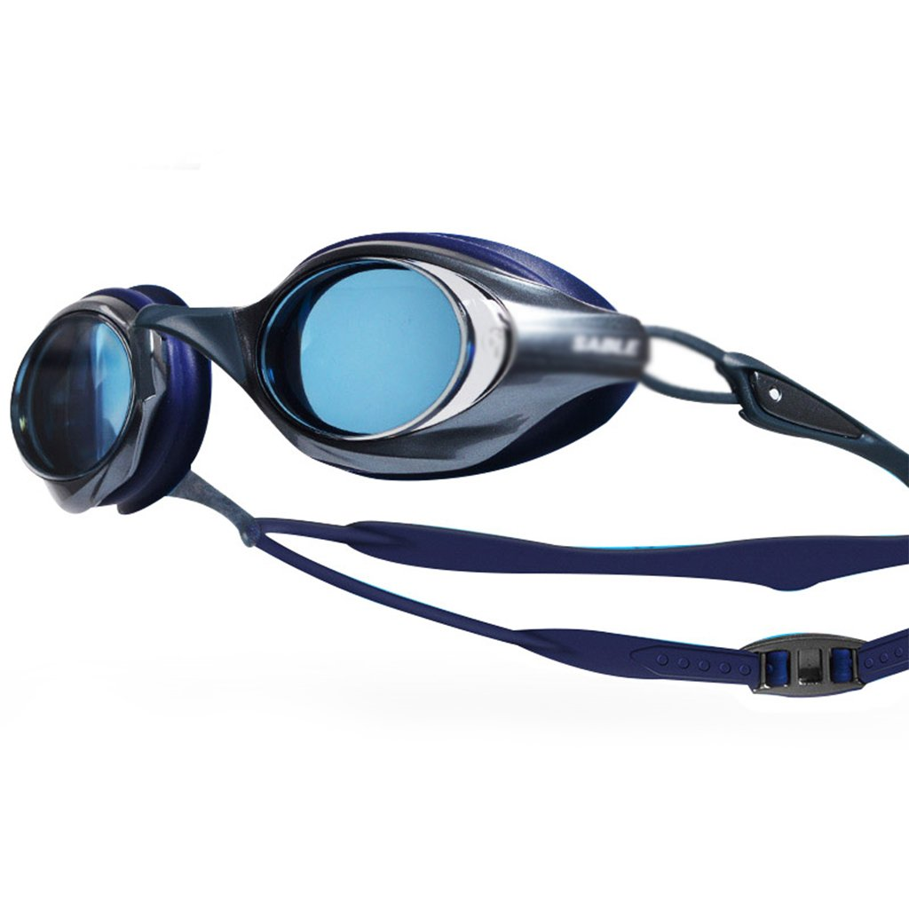 WJ スイミンググラスアダルトプロフェッショナルトレーニングゴーグルアンチUV防曇防水HD水泳競技用メガネ ゴーグル  C B07NYQZ3F7