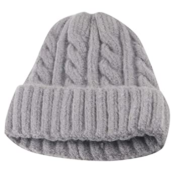 dc93fa1a6a3e0 Amazon.com: Toddler Kid Girl Boy Baby Winter Thick Soft Crochet ...