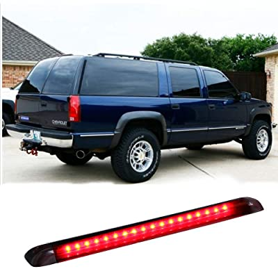 VOFONO Compatible with 1992 to 1999 Chevy Suburban Third Brake Light Blazer Tahoe Yukon LED High Mount Stop Red: Automotive