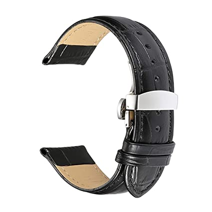 Amazon.com: Watch Bands Strap 18mm 19mm 20mm 21mm 22mm 24mm ...