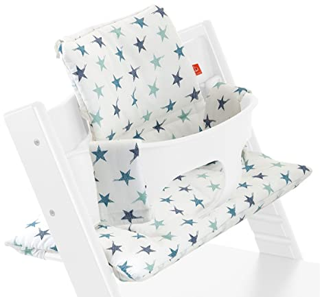 Stokke - Cojín para tripp trapp aqua star multicolor: Amazon ...
