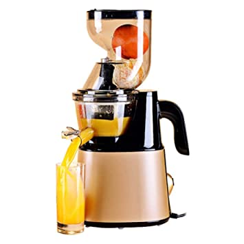 HhGold Exprimidor automático de Frutas y Verduras Multifuncional máquina de Jugo Frito máquina de Jugo Mini máquina de Leche de Soja, Rojo (Color : - ...