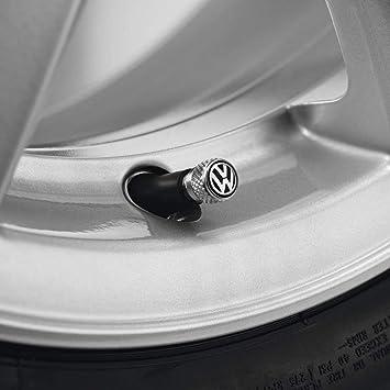 Volkswagen Original Ventilkappen Mit Vw Logo Für Gummi Metallventile Auto
