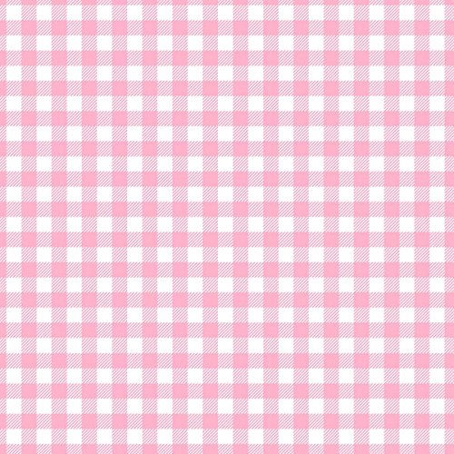 Robert Kaufman Burly Beavers Flannel Pink Buffalo Check