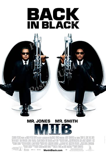Amazoncom Posters Usa Men In Black Ii Mib Movie Poster
