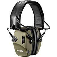 ZOHAN EM054 Electronic Shooting Ear Protection Noise Reduction Earmuff -NRR22dB