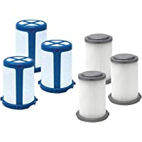 Fette Filter - Vacuum Filters Compatible with Black + Decker Cordless Vacuums HCUA525 Series Compare to Part # CUAHF10 3…