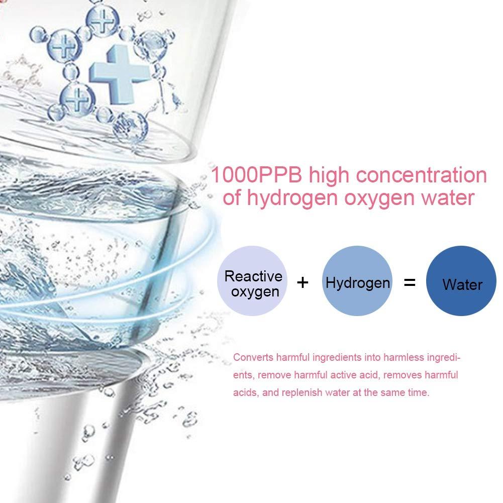 3-in-1 Hydrogen Oxygen Ultra-micro Bubble Face Skin Hydro Spa Vacuum Suction Blackhead Rejuvenation Remove Wrinkles Machine For Salon Use(US Plug) by ZJchao (Image #9)