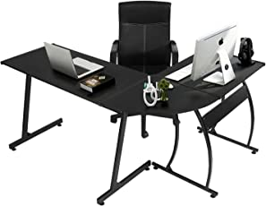 home office table. Wonderful Table GreenForest LShape Corner Computer Office Desk PC Laptop Table Workstation Home  3 In I